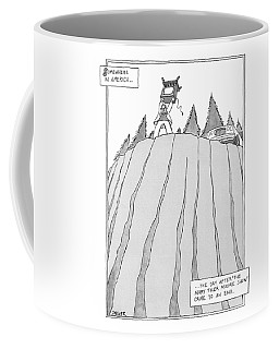 Somewhere In America Coffee Mug