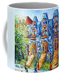 Somewhere In Montreal - Cityscape Coffee Mug