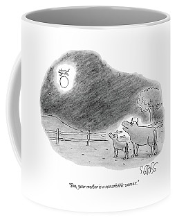Son, Your Mother Is A Remarkable Woman Coffee Mug
