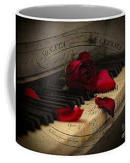 Sonata In Roses Coffee Mug