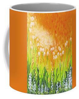 Coffee Mug featuring the painting Sonbreak by Holly Carmichael