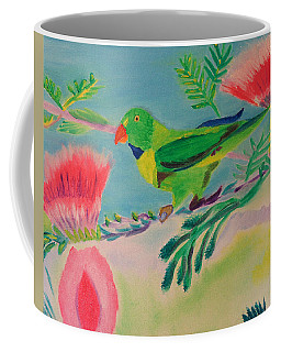 Songbird Coffee Mug by Meryl Goudey