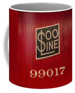 Soo Line Box Car Coffee Mug