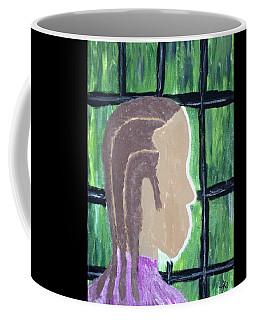 Abstract Man Art Painting  Coffee Mug