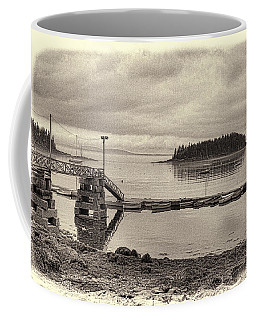 Sorrento Harbor Boats 4 Coffee Mug