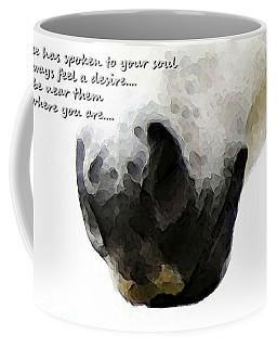 Soul Touch - Emotive Horse Art By Sharon Cummings Coffee Mug