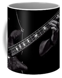 Coffee Mug featuring the photograph Sounds In The Night Bass Man by Bob Orsillo
