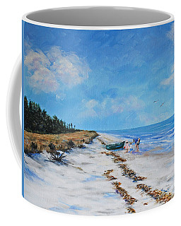 South Beach  Hilton Head Island Coffee Mug