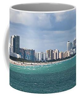 South Beach On A Summer Day Coffee Mug