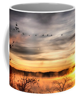 Coffee Mug featuring the photograph South Carolina Morning by Lynne Jenkins