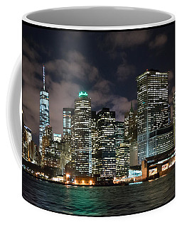 South Ferry Manhattan At Night Coffee Mug