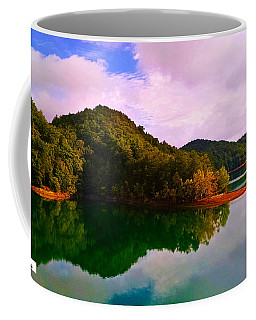 North Holston Lake Mountains Coffee Mug