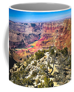 South Rim From The Butte Coffee Mug