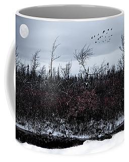 South To The Moon Coffee Mug