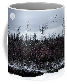 South To The Moon Coffee Mug
