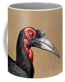 Southern Ground Hornbill Portrait Side View Coffee Mug