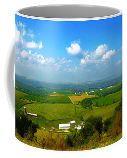 Southern Illinois River Basin Farmland Coffee Mug