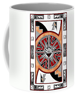 Southwest Collection - Design Six In Red Coffee Mug