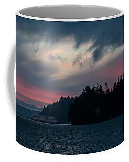 Southworth Ferry Run At Dawn Coffee Mug