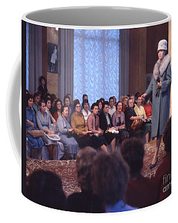 Soviet Fashion Show In Moscow 1961 Coffee Mug