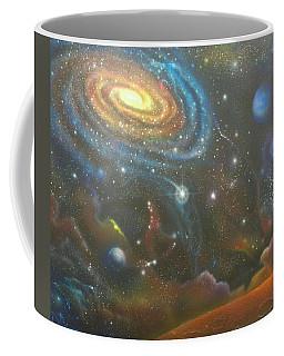 Space Dolphins Coffee Mug