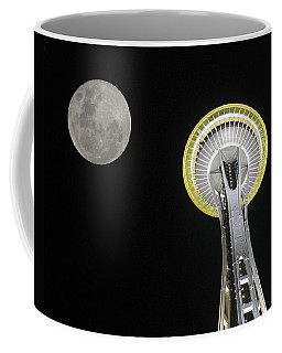 Space Needle Coffee Mug by David Gleeson