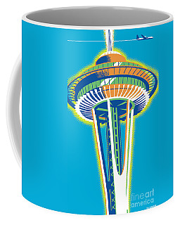 Space Needle Pop Art Coffee Mug