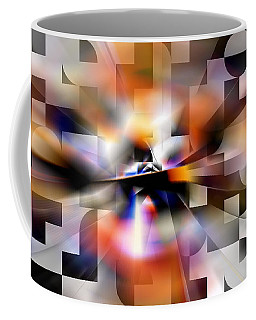 Space - Out There Coffee Mug by rd Erickson