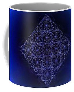 Space Time Sine Cosine And Tangent Waves Coffee Mug