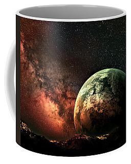 Spaced Out Coffee Mug by Ally  White