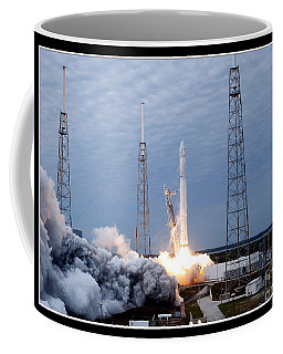 Spacex-2 Mission Launch Nasa Coffee Mug