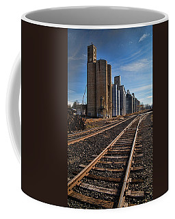 Spangle Grain Elevator Color Coffee Mug