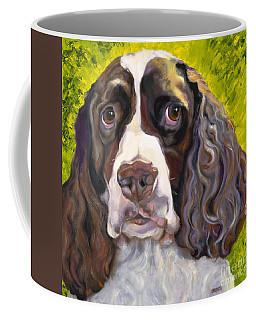 Spaniel The Eyes Have It Coffee Mug