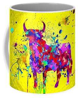 Spanish Bull Coffee Mug by Daniel Janda