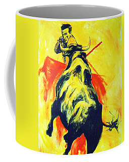 Spanish Bullfight Coffee Mug