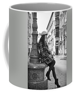 Waiting In This Spanish Street Coffee Mug