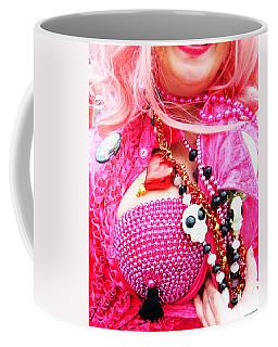 Spanish  Mardi Gras Parade Finery Louisiana Coffee Mug