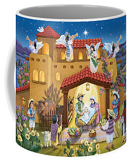 Spanish Nativity Coffee Mug