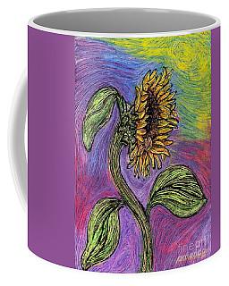 Spanish Sunflower Coffee Mug by Sarah Loft
