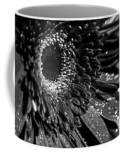 Sparkling Gerbera In Monochrome Coffee Mug