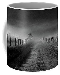Sparks Lane In Black And White Coffee Mug