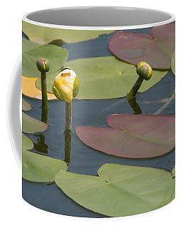 Spatterdock Heart Coffee Mug