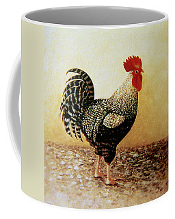 Speckled Rooster  Coffee Mug by Dory Coffee