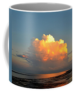 Spectacular Cloud In Sunset Sky Coffee Mug