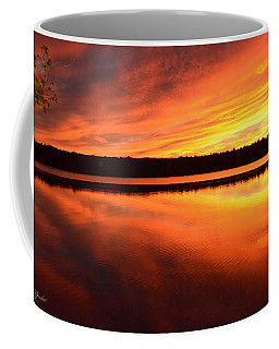 Spectacular Orange Mirror Coffee Mug