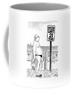 Speedo Limit  21 Years Coffee Mug