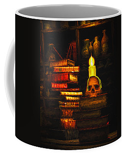 Coffee Mug featuring the painting Spells by Bob Orsillo