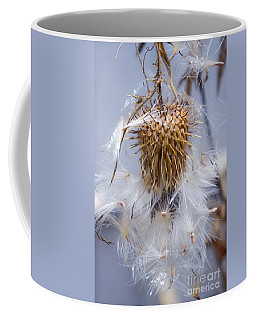 Spent Thistle Coffee Mug
