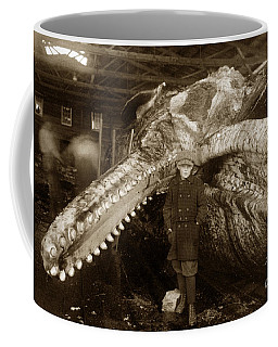 Sperm Whale Taken At Moss Landing California  On January 22 1919 Coffee Mug
