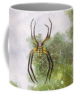 Spider In Web #2 Coffee Mug